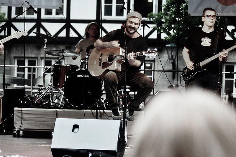 Schimmer auf der Fête de la Musique Hannover