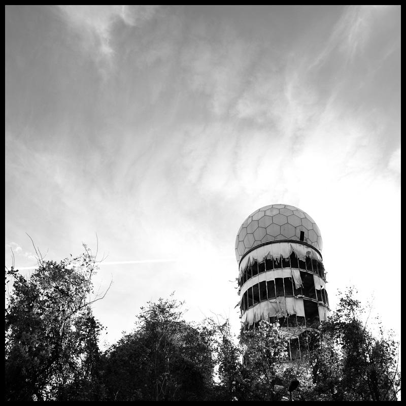 Radarstation auf dem Berliner Teufelsberg