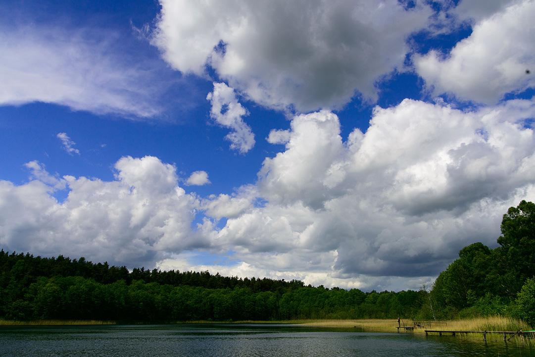 Angler am Großen Kastavensee