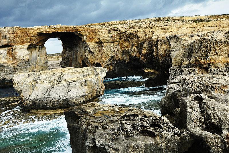 Azur Window auf Gozo